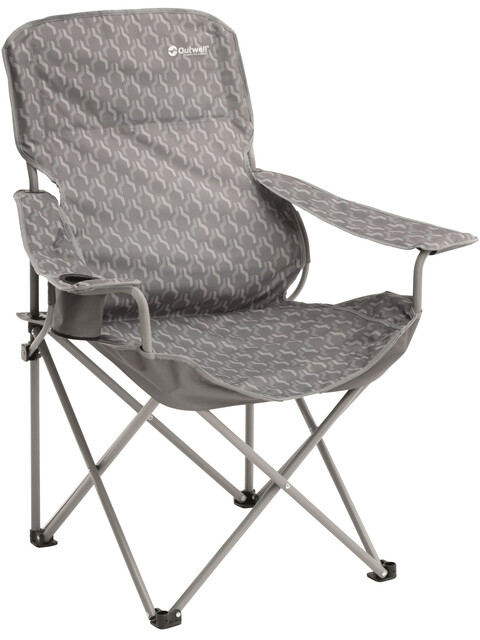 Outwell Black Hills Folding Chair Silver